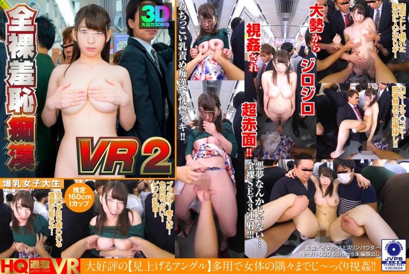 【VR】全裸羞恥痴漢 VR2
